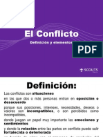Conflicto-Definicion y Elementos