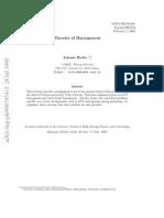 VERY - Theories of Baryogenesis