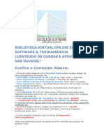 Conteudo Da Biblioteca Virtual Online Escola de Software