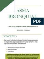 Asma Bronquial, Hernández a Ma de La Luz