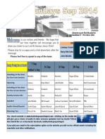Newsletter Broadsheet 2014 Sep7