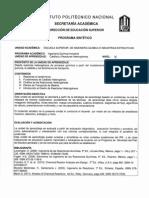 Catálisis y Reactores HeterogéneosPrograma