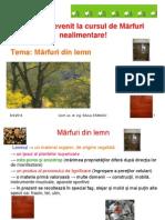 Marfuri din lemn