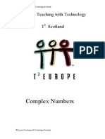 TI83 Complex Numbers