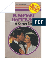 159266118 a Secret Life Rosemary Hammond PDF | Leisure