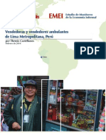 IEMS Lima Street Vendors City Report Espanol