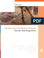 Custodial and Non Custodial Measures Social_Reintegration