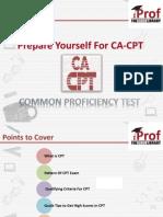 Prepare Yourself For CA-CPT Exam