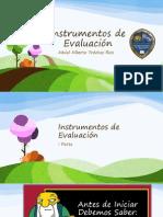 Instrumentos de Evaluación - Abdel Alberto Trochez Rios