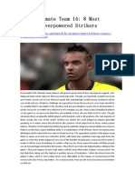 FIFA Ultimate Team 14 8 Most Crazily Overpowered Strikers - GameBasin.com