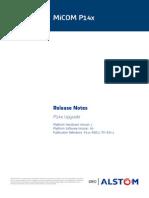 P14x RNC1 TM en 1 Release Notes