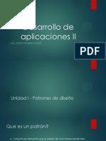 Desarrollo de Aplicaciones II Parte 2