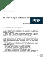 La Metodologia Didactica Del Derecho