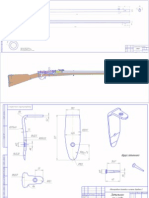 Berdan II (M1870) Rifle Complete Blueprints