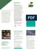 green peace brochure