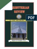 Presbyterian Review - April_June, 2014