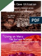 Martian Cave Utilization Jun 02