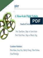 Me So Scale Flight Vehicle