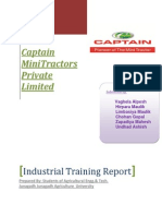 Industrial Training Report Modify