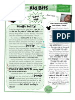 2009 11 Children's Newsletter