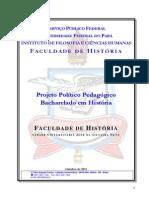 Projeto Político Pedagógico Do Curso de Bacharelado III Da Faculdade de História