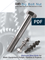 Big bolt nut - Stainless Steel Bolts and Nuts Manufacturers in India