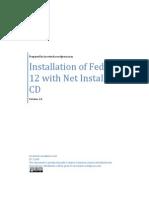 Installation of Fedora 12 Using Net Install CD