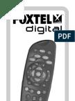 FOXTEL REMOTE CONTROL SD ... instruction manual faq User Guide ... prd2 ...