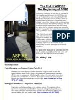 ASPIRE Newsletter - Final