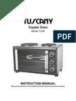 AIRFLO Oven Manual