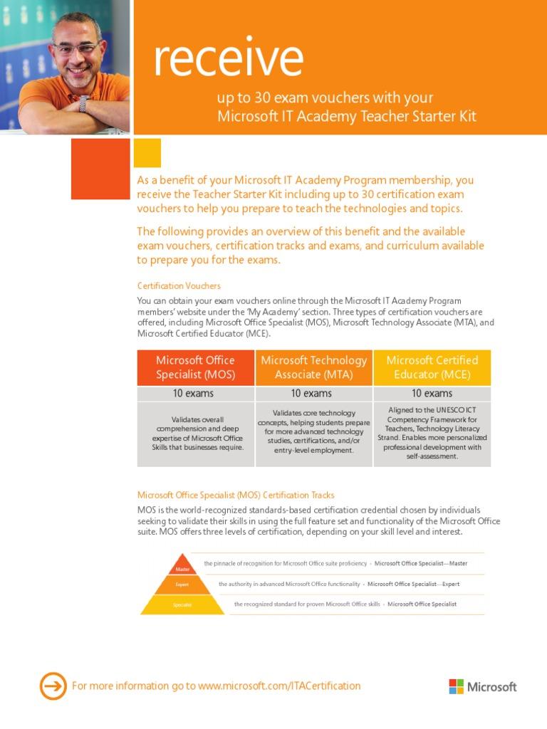 Ita teacherstarterkit professional certification educational ita teacherstarterkit professional certification educational technology 1betcityfo Choice Image