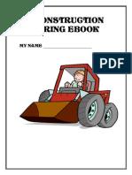 My Construction Coloring eBook