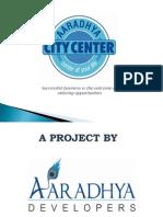 Aaradhya City Center Presentation