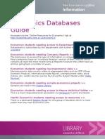 Economics Online Resources Guide