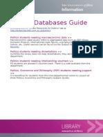 Politics Online Resources Guide