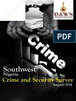 Southwest Crime Survey Report PDF