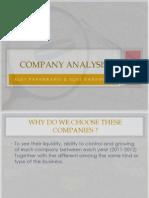 company analysiss