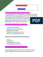 Amortissement Cours Et Exercices Corriger 2 Bac Science Economie Et Techniques de Gestion Et Comptabilité