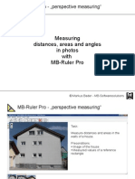 MB RulerPro Perspectivemeasuring