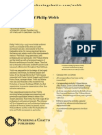 The Letters of Philip Webb leaflet