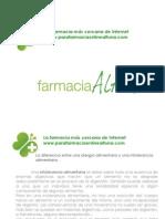 Farmacia Altuna. Diferencia entre alergia alimentaria e intolerancia alimentaria.