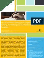 Scientific & academic editing services, publication ready manuscripts | editEon
