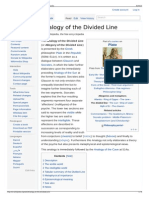 Analogy of the Divided Line - Wikipedia the Free Encycloped