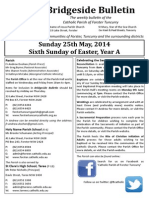 2014-05-25 - 6th Easter A