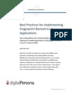DP Wp BestPracticesforImplementingBiometrics