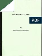 Vector Calculus Workbook