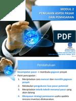 MODUL 2-PENILAIAN ASPEK PASAR DAN PEMASARAN.pptx