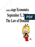 day 2  - the law of demand