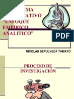 "Paradigma Cuantitativo Enfoque Empirico Analitico"""