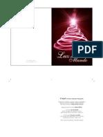 Cartão de Natal (Lindo e GRÁTIS) -  Luz Do Mundo
